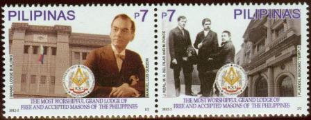 2012 Filipinas 100 anos da Grande Loja Maçônica dos Maçons aceitos