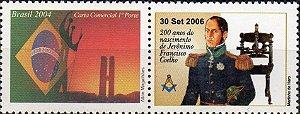 2006 200 anos de Jerônimo Coelho - Selo personalizado