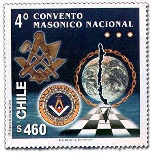 2000 Chile V Congresso Maçônico (mint)