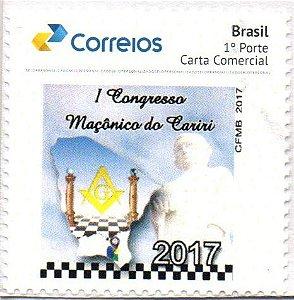 2017 I Congresso Maçônico da Região do Cariri Selo Personalizado