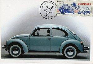 2013 Máximo Postal Indústria Automobilística - Fusca