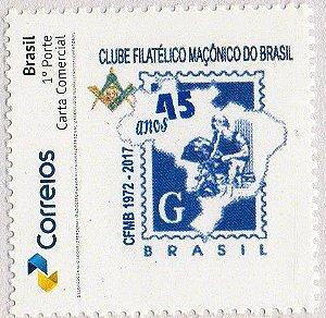 45 anos do Clube Filatélico Maçônico CFMB - SP
