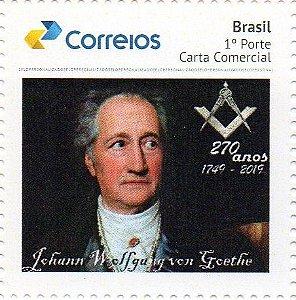 2018 Comemoração do 270 anos do Poeta e Maçom Goethe