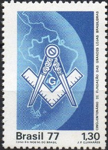 1977 - Cinquentenário das Grandes Lojas Maçônicas