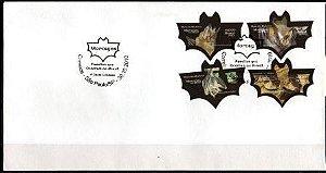 2010 Série Morcegos FDC (não oficial) novo