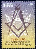 2006  Uruguai 150 anos da Maçonaria