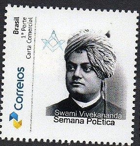 2017 Semana Poética Swami SP Homenagem ao poeta e maçom indiano