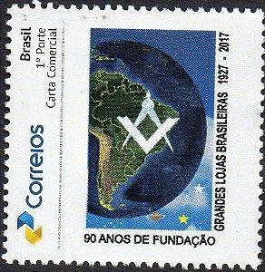 2017 90 anos das Grande Lojas Brasileiras