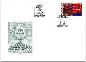 2013 Eslováquia  150º aniversário de Fundação de Maltica FDC