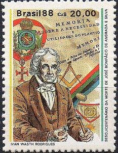 1988 José Bonifácio maçom