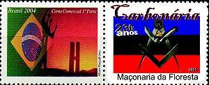 2008 Homenagem à Maçonaria Florestal - Carbonaria