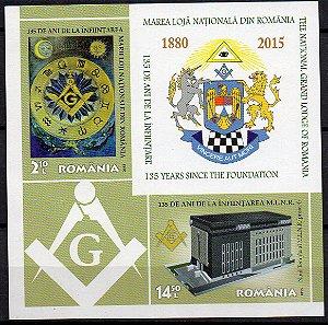 2015 Romênia 135 anos da Loja Maçônica Nacional