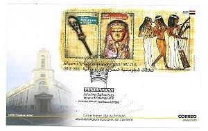 2015 Uruguai - Egito - Relações Diplomáticas FDC