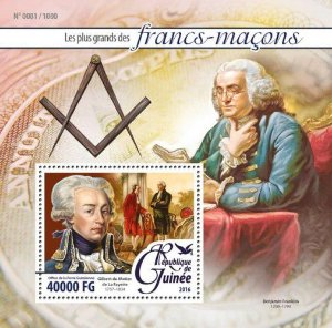 2016 Guiné - Francos Maçons - Bloco Gilbert du Montier