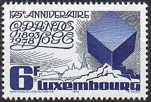 1978 Luxemburgo 175 anos do Grande Oriente