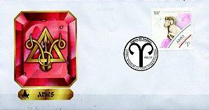2019 Aires FDC Série Signos do Zodíaco
