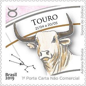 2019 Touro - Série Signos do Zodíaco (mint)