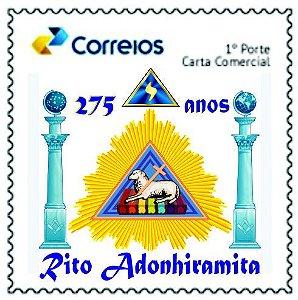 2019 - 275 anos do Rito Adonhiramita - SP (mint)