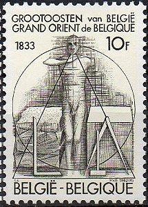 1983 Bélgica Homenagem ao Grande Oriente (mint)