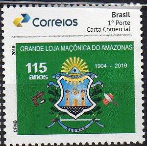 2019 Grande Loja Maçônica do Amazonas 115 anos SP