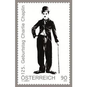 2014 125 anos de Charlie Chaplin (mint)