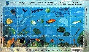 1998 Folha Oceanos (mint)
