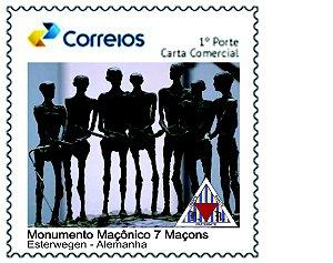 2020 Monumento Maçônico 7 Maçons  SP (mint)