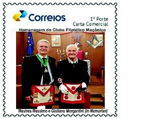 2020 Homenagens aos mestres maçons da Itália Morgantini (In Memorian)