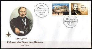 2011  150 anos dos Livros dos Médiuns - Alan Kardec