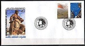 2013 Envelope Personalizado Bicentenário do Aleijadinho