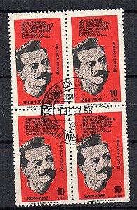 1968 Caldas Júnior (maçom) Centenário Quadra com CPC