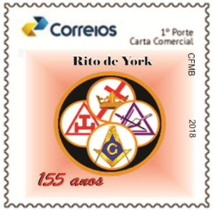 2018 Rito de York - 155 anos SP (mint)