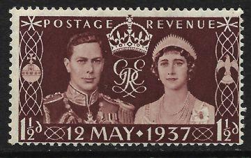 1937 Inglaterra Rei Jorge VI - Grao Mestre da Grande Loja Unida