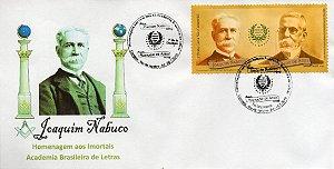2019 Joaquim Nabuco e Machado de Assis - Homenagem aos Imortais da ABL