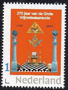 2019 Holanda 270 anos da Grande Loja Maçônica holandesa