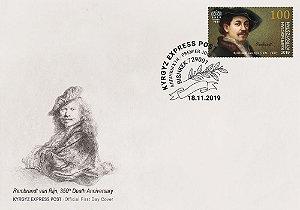 2019 Quirguistão - Rembrandt - FDC (novo)