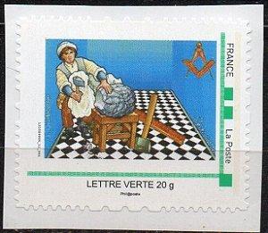 2014 França - O Aprendiz - Selo Personalizado autoadesivo MINT
