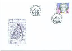 2003 - Eslováquia - Ludwig van Beethoven FDC (novo)