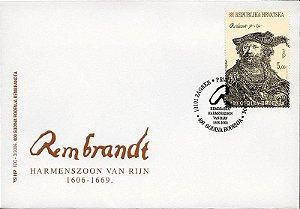 2015 Croácia - Rembrandt - FDC