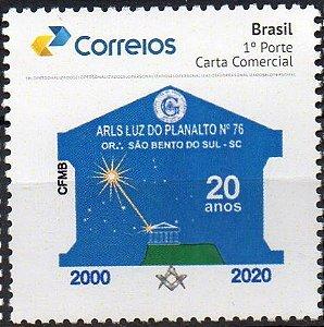 2020 Loja Maçônica Luz do Planalto 20 anos - SP