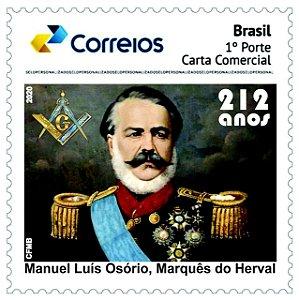 2020 Marques do Herval - 212 anos - SP mint novo