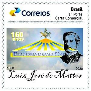 2020 Luiz José de Mattos fundador do Racionalismo Cristão, maçom e espiritualista 160 anos SP (min)