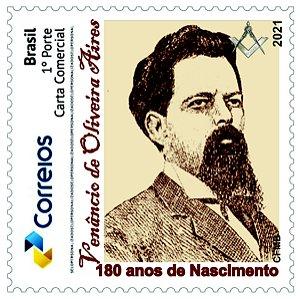 2021 - Venâncio de Oliveira Aires, maçom, republicano e abolicionista 180 anos