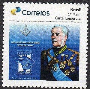 2020 - Duque de Caxias - homenagem da Maçonaria Brasileira - SP
