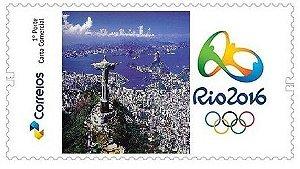 2016 - Selos Personalizados Rio 2016 - Olímpico e Paralímpico - pictografados autoadesivos