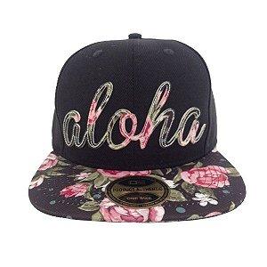 Boné Aloha Aba Reta