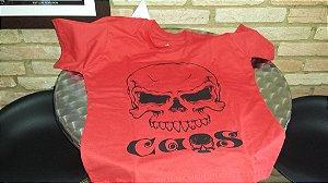 Camiseta Bamberg Caos - Vermelha Tamanho GG