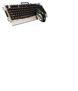 Teclado Gamer JP-133 Verde
