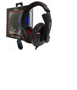 Fone De Ouvido Headset Com Microfone Feir Usb Pc Ps3 Ps4