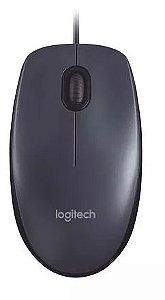 Mouse Logitech M100 Usb Preto